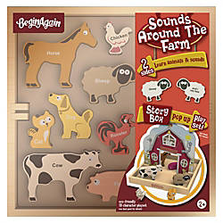 BeginAgain Toys Sounds Around the Farm