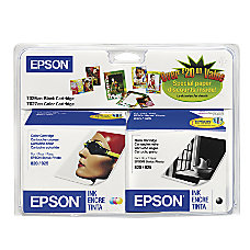Epson T026 T026201 BCD BlackTricolor Ink