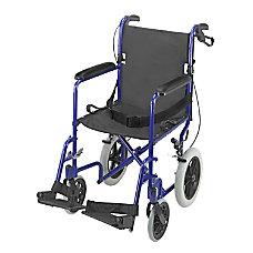 DMI Folding Transport Chair 38 H