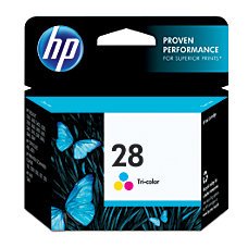HP 28 Tricolor Original Ink Cartridge
