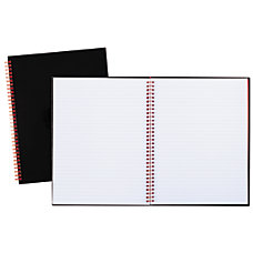 Black n Red Business Notebook 8