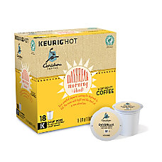 Caribou Daybreak Morning Blend K Cups