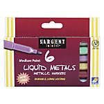 Sargent Art Liquid Metals Metallic Markers