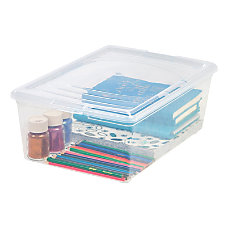 Office Depot Brand Clear Plastic Storage