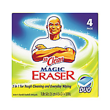 Mr Clean Magic Eraser Duo Pads