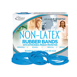 Alliance Rubber Antimicrobial Rubber Bands Assorted