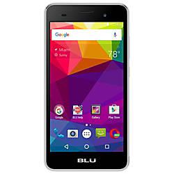 BLU Dash M2 Cell Phone Silver