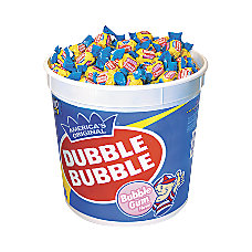 Dubble Bubble Gum 5 Lbs Tub