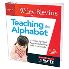 Scholastic Teacher Resources Teaching The Alphabet