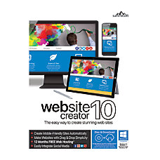 Summitsoft Website Creator 10 Traditional Disc