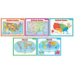 Scholastic Teachers Friend Teaching Maps Bulletin