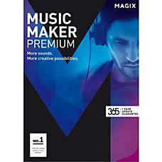 MAGIX Music Maker Premium Download Version