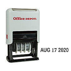 Office Depot Brand Self Inking Dater