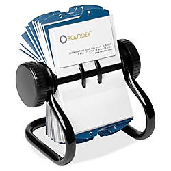 Rolodex Rotary A Z Index Business