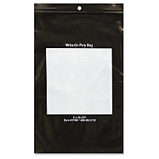C Line Write On Reclosable Bags