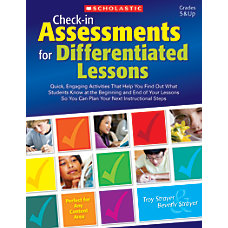 Scholastic Teacher Resources Check In Assessments