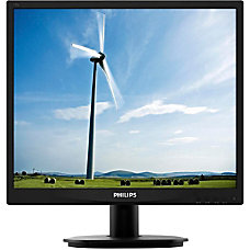 Philips 19S4LSB5 19 LED LCD Monitor