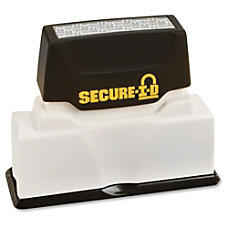 Consolidated Stamp Black Ink Secure ID