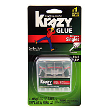 Krazy Glue All Purpose Single Use