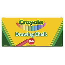 Crayola 510400 Colored Drawing Chalk 318
