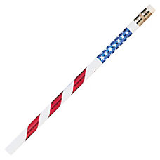 Moon Products Stars Stripes Themed Pencils