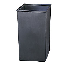 Safco Solid Plastic Trash Can Liner