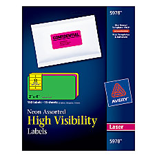 Avery Color Laser Address Labels 2