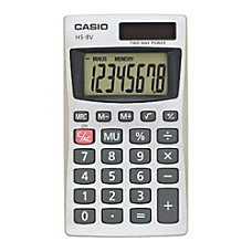 Casio HS 8V Basic Calculator