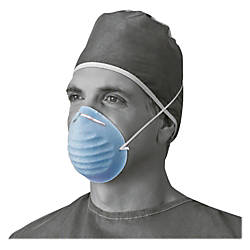 Medline Cone style Face Mask Blue