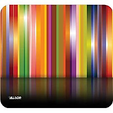 Allsop Naturesmart Mousepad Tech Multi Stripes