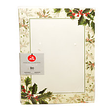 Gartner Studios Stationery Sheets Painterly Holly
