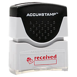 Accu Stamp Pre Inked Message Stamp