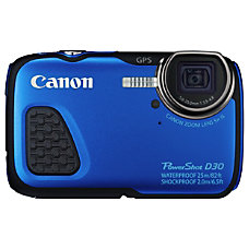 Canon PowerShot D30 121 Megapixel Compact