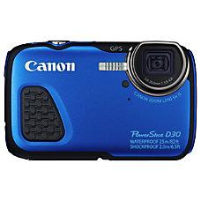 Canon PowerShot D30 121 Megapixel Digital