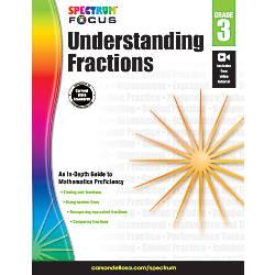 Spectrum Understanding Fractions Grade 3