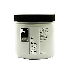 R F Handmade Paints Encaustic Gesso