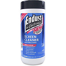 Endust For Electronics Screen Cleaner Wipes