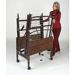 Medline Homecare Bed Transport Cart Brown