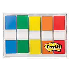 Post it Mini Flags With Dispenser