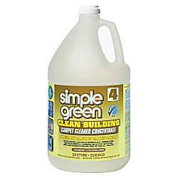 Simple Green Clean Building Carpet Cleaner
