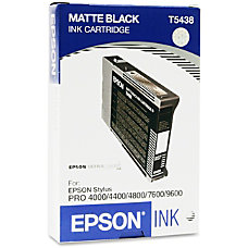 Epson Matte Black Ink Cartridge Inkjet