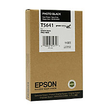 Epson Photo Black Ink Cartridge Inkjet