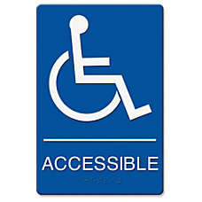 Headline Wheelchair Image Indoor Sign 1