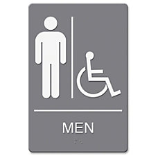 Headline MenWheelchair Image Indoor Sign 1