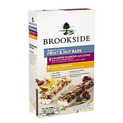 Brookside Yogurt And Fruit Bars Box