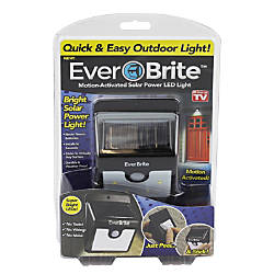 EverBrite Motion Activated Solar Powered LED