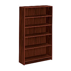 HON Radius Edge Bookcase 5 Shelves