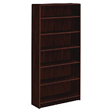 HON Radius Edge Bookcase 6 Shelves