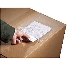 3M Zippered Packing List Envelopes 20