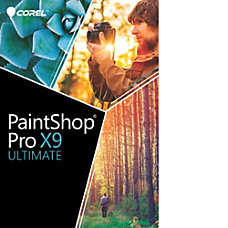 Corel PaintShop Pro X9 Ultimate Download